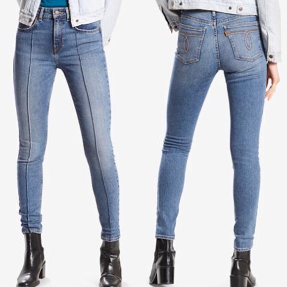 9cf7d5f68f7f4 Levi s Denim - Levi s 721 Vintage High Rise Skinny Jeans